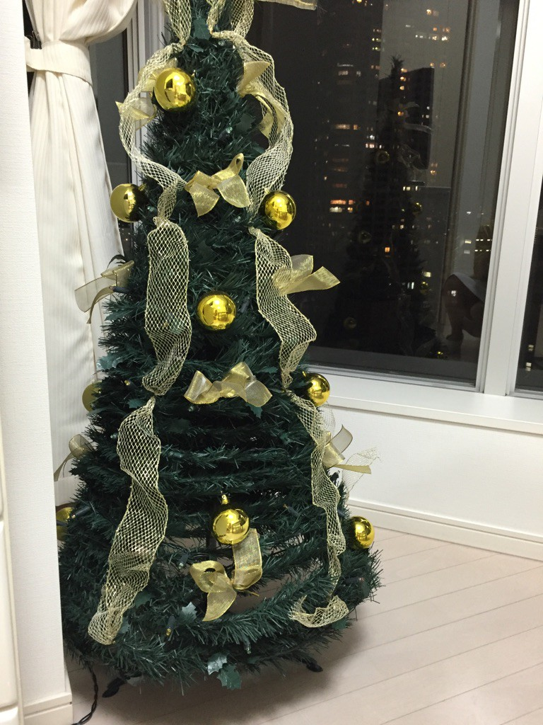 クリスマスツリー モミの木 ゆいか