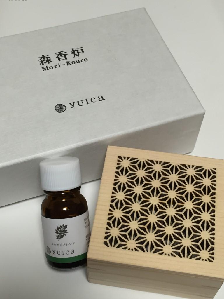 ラヴァーレ ブログ 香り yuica クロモジ 森香炉