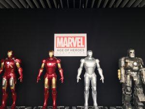 ラヴァーレ アロマ ブログ マーベル展 アイアンマン スパイダーマン